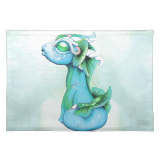 Bitty Water Dragon Placemat