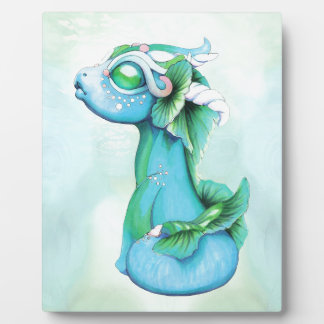 Bitty Water Dragon Plaque