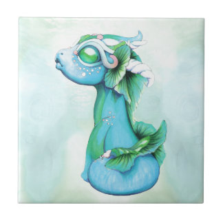 Bitty Water Dragon Tile