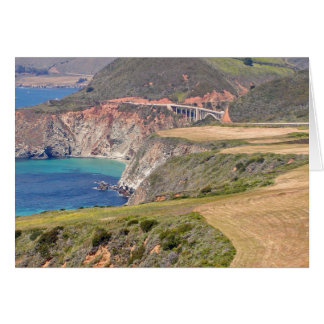 Bixby Bridge; Big Sur, California Card