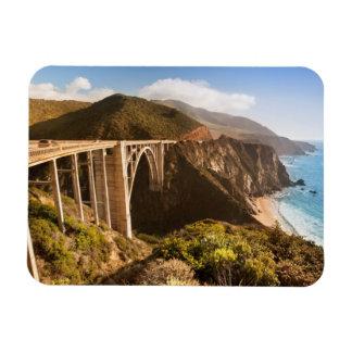 Bixby Bridge, Big Sur, California, USA Rectangular Photo Magnet