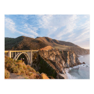 Bixby Bridge in California Postcard