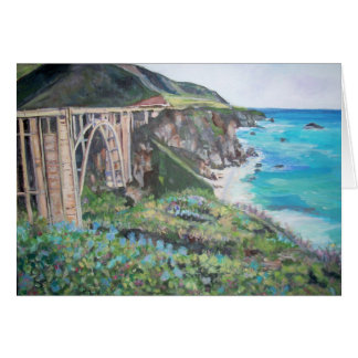 Bixby Creek Bridge - Greeting Card