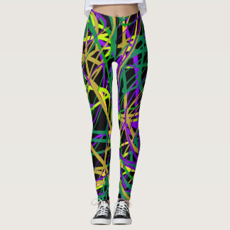 Bizarre Paint Leggings