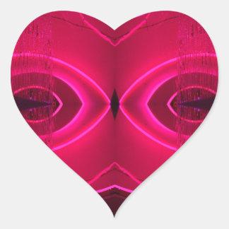 Bizarre Unusual Design Urban Light Art Heart Sticker