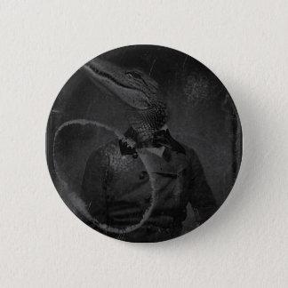 Bizarre Vintage Image Caiman 2 Inch Round Button