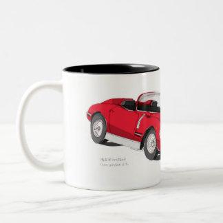 Bizzarrini 5300 Spyder S.I. Two-Tone Coffee Mug