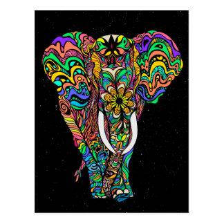 #Bizzartino Cosmic elephant love by Postcard