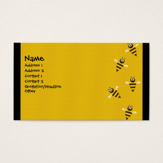 Bizzy Bees Business Card