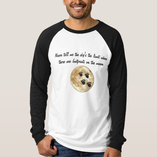 BJ- Funny Inspirational Moon Shirt