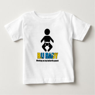 "BJJ Baby ""Working on my butterfly guard"" T Baby T-Shirt"