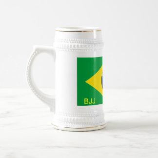 BJJ, BRAZILIAN JIU-JITSU BEER STEIN