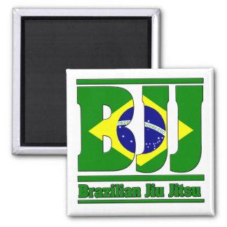 BJJ Brazilian Jiu Jitsu Flag MMA Magnet