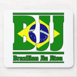BJJ Brazilian Jiu Jitsu Flag MMA Mouse Pad