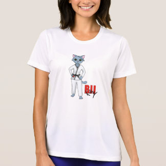 BJJ Kitty Black Belt T-Shirt