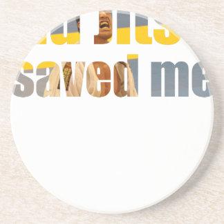 BJJ Saved Me Coaster