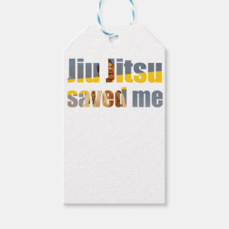 BJJ Saved Me Gift Tags