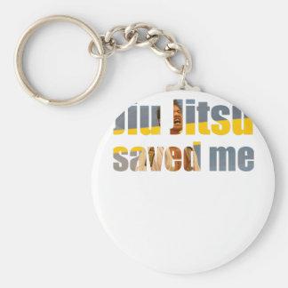 BJJ Saved Me Keychain