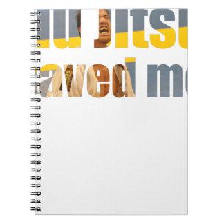 BJJ Saved Me Notebook