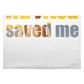 BJJ Saved Me Placemat
