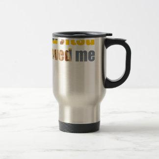 BJJ Saved Me Travel Mug