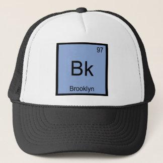 Bk - Brooklyn Chemistry Element Symbol New York T Trucker Hat