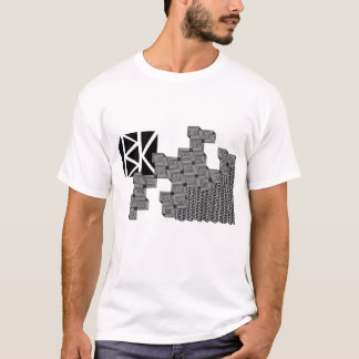 bk checkard board trippy T-Shirt