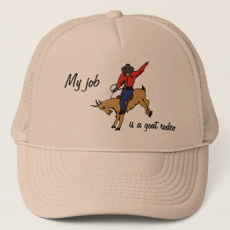 BK- Goat Rodeo Job Hat