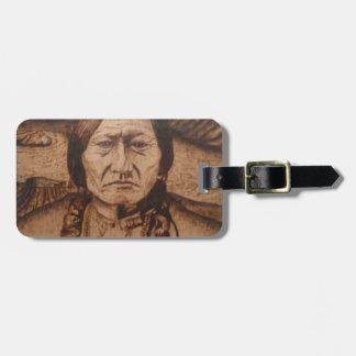 bk wb (10).PNG Wood burning art on product Luggage Tag