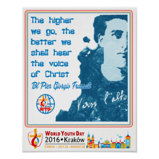 BL PIER GIORGIO FRASSATI WORLD YOUTH DAY 2016 POSTER