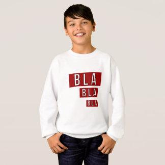 Bla Bla Bla Red Sweatshirt