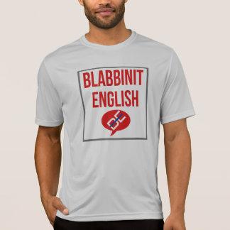 Blabbinit English Red T-Shirt