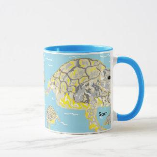 Black 11 oz Combo Mug Sea Turtles