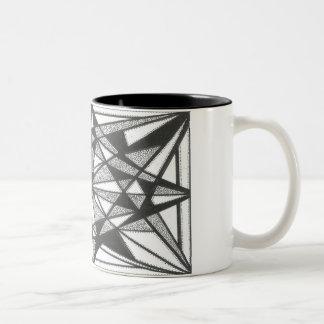 Black 11 oz Two-Tone Mug
