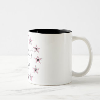 Black 11 oz Two-Tone Mug art by Jennifer Shao