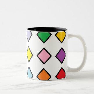Black 11 oz Two-Tone Mug art by JShao