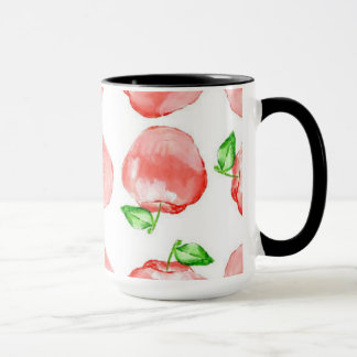 Black 15 oz Combo Apple Mug