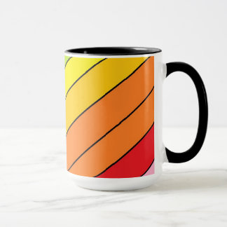 Black 15 oz Combo Mug art by Jennifer Shao