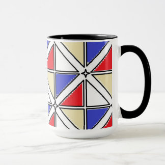 Black 15 oz Combo Mug by Jennifer Shao