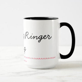 Black 15 oz Ringer Mug