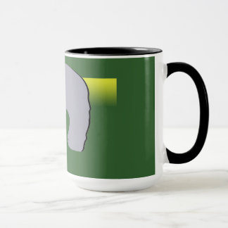 Black 15 oz Ringer Mug Jill 2016 Graphic