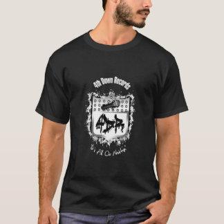Black 4th Down Records T Shirt