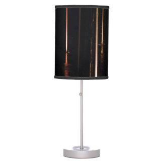 Black Abstract Table Lamps