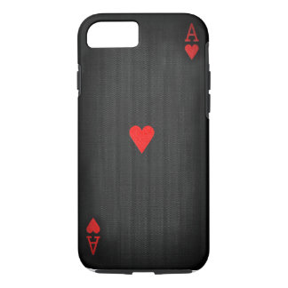 Black Ace of Hearts Case-Mate iPhone Case