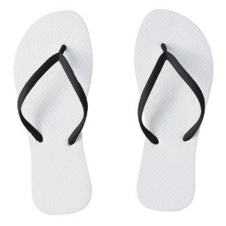 Black Adult Flip Flops, Slim Straps Flip Flops