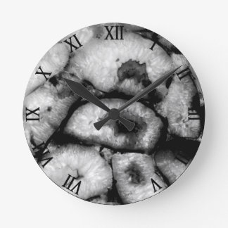 Black Agate Wallclocks