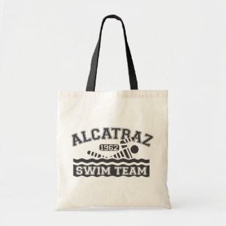 Black Alcatraz Swim Team Tote