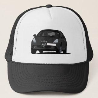 Black Alfa Romeo Giuletta Trucker Hat