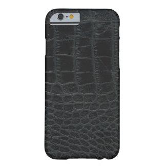 Black Alligator Skin iPhone 6 case
