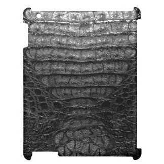 Black Alligator Skin Print mini iPad Case